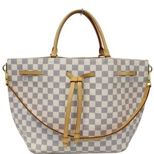 LOUIS VUITTON GIROLATA DAMIER AZUR SHOULDER BAG